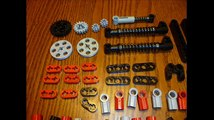Lego Technic MTB - bicycle building instructions - Specialized Safire Mountain bike