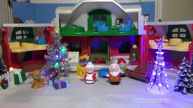 Nickelodeon Peppa Pig Christmas Adventure BBC Peppa Pig Toy Nick JR Playset Peppa Toy