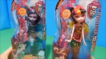 Great Scarrier Reef Glowsome Ghoulfish Clawdeen & Draculaura Dolls Unboxing Toy Review