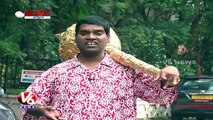 Bithiri Sathi Supports Jr NTR Over His Counter On Movie Critics | Teenmaar News | V6 News