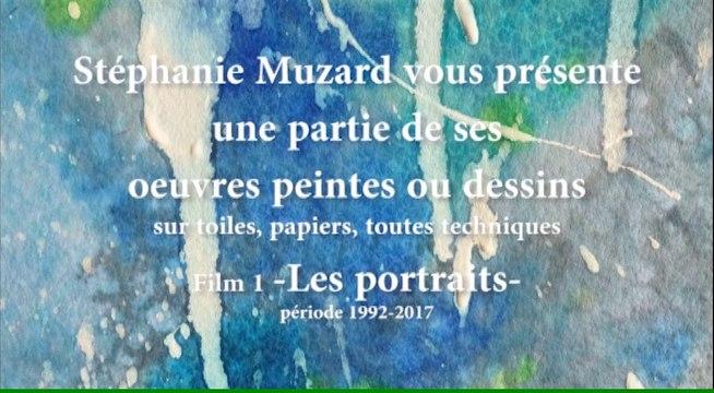 """L'Atelier des Muses, film n°1 : """"les portraits"""" par Stéphanie Muzard"""