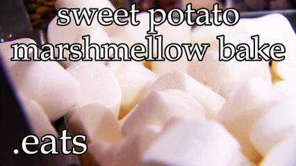 Chef Micheal's Kitchen - Sweet Potato Marshmallow Bake