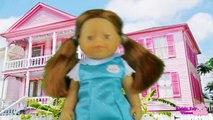 Baby Barbie Eats & Poops Halloween Sleepover Cookies! - Barbie Poops Her Pants, Barbie Poops herself
