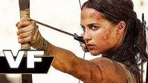 TOMB RAIDER Bande Annonce VF (2018) Alicia Vikander est Lara Croft !
