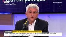"""""""Rien ne se fait sans les régions aujourd'hui"""", estime Hervé Morin, président du conseil régional de Normandie"""