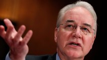 HHS Sec'y Tom Price Ejected From The Trump Administration Island