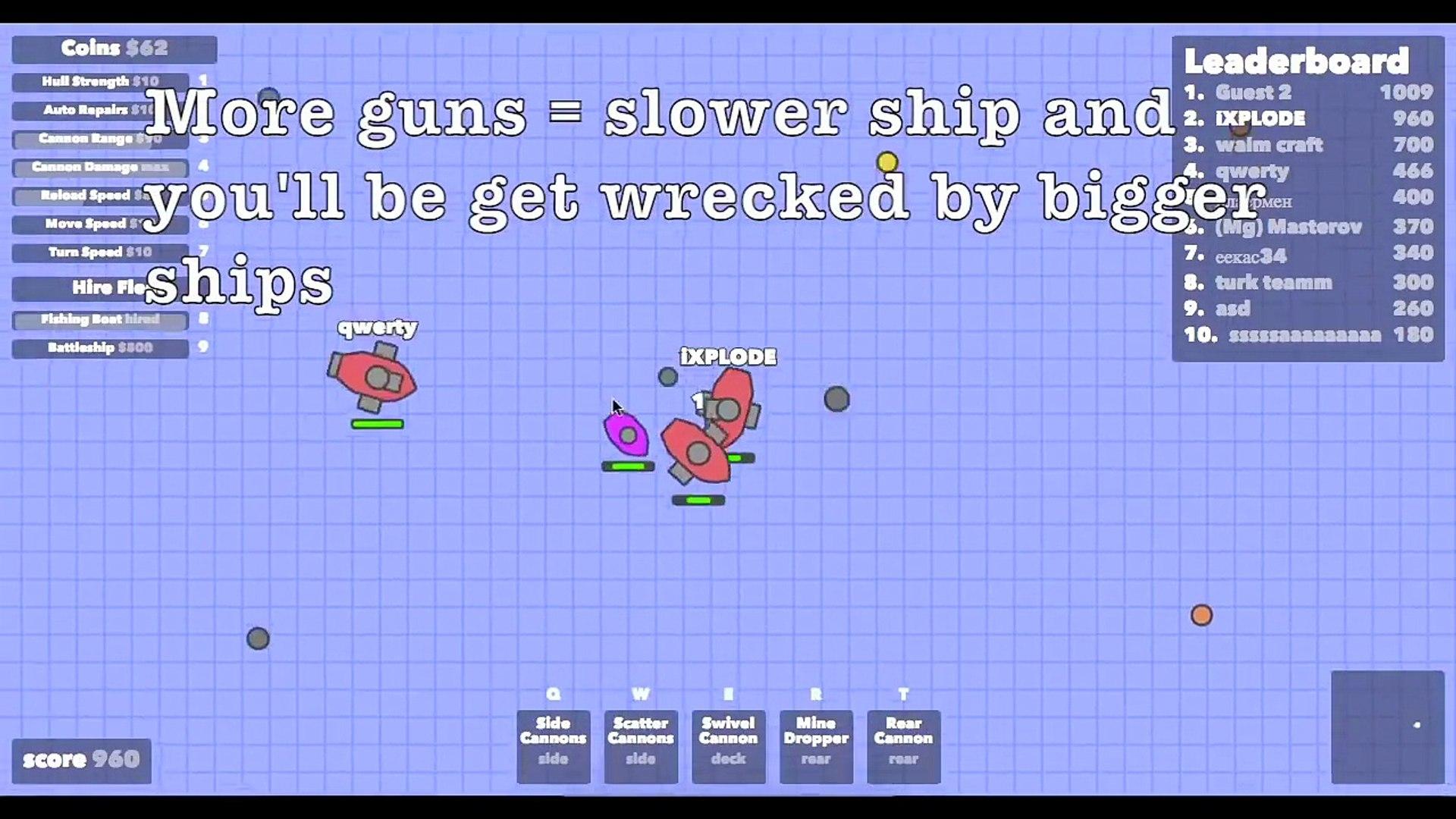NEW DOBLONS.IO BOSS!! // New Update Battleship & Boss // Doblons Gameplay