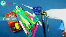 Popsicle Stick Crafts, Ice Cream Stick Box for Jewelry Box, Gift box, Desk Organizer