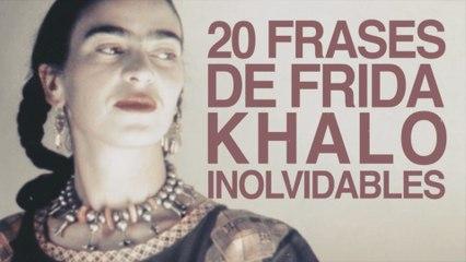 20 Frases de Frida Kahlo que son inolvidables