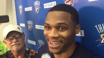 Russell Westbrook Steals Kevin Durant's Thunder on KD's Birthday