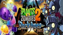 Plants vs Zombies 2 - Dark Ages Night 9 Zombies Boost - Plants vs Zombies 2 update Map 5