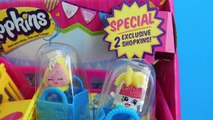 MLP Nurse Redheart and Shopkins Shoppin Cart Toys- Pinkie Goes Shopping