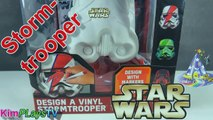 Star Wars Design a Vinyl Storm Trooper Head to Design and Paint On