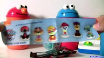 Cookie Monster, Elmo, Oscar TOYS SURPRISES Sesame Street Singing Pop Up Pals by Blu toys Club-5UlLThU3Yh0