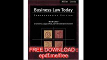 Business Law Today Comprehensive (with Online Legal Research Guide) (Available Titles CengageNOW)