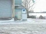 206 glisse et drift sur neige