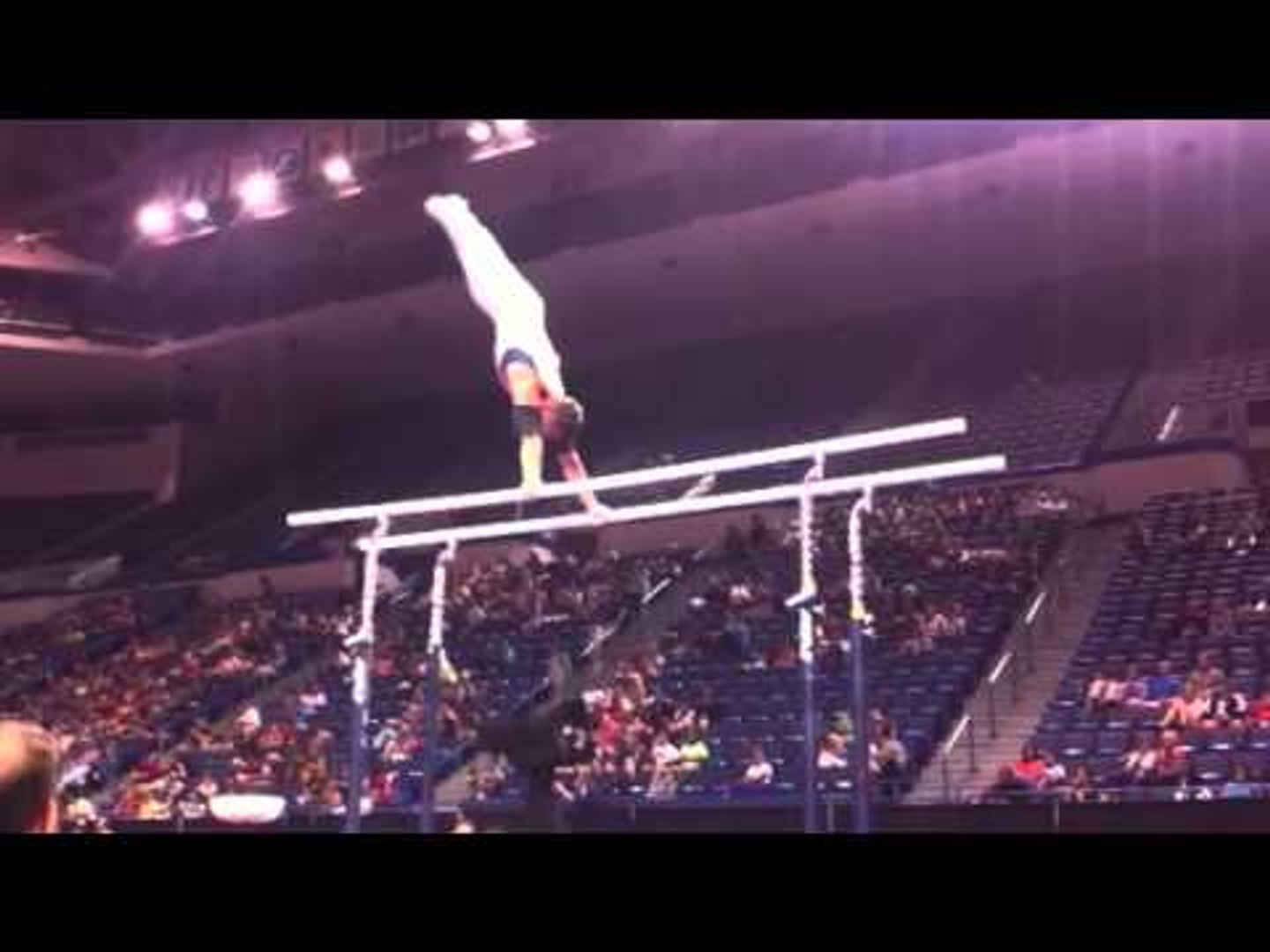 Hunter Justus - Parallel Bars - 2013 P&G Championships - Jr. Men - Day 1
