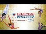 2014 USA Gymnastics Championships - Rhythmic Gymnastics - Jr. AA Finals