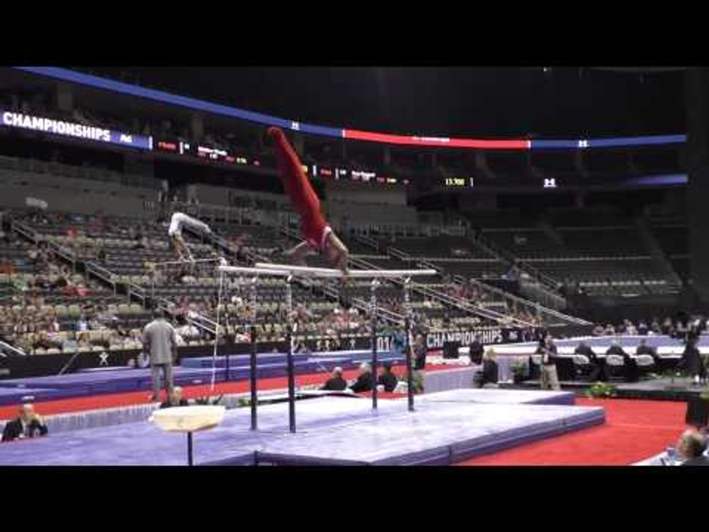Hunter Justus - Parallel Bars - 2014 P&G Championships - Jr. Men Day 1
