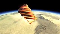 Kerbal Space Program (KSP). БТР падает с орбиты. Fall from orbit.