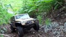 RC OFF Road Extreme 4x4 - MUD bogging - Hummer H2 - Jeep Wrangler Rubicon - Land Rover Defender 90