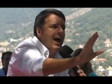 """Agerola (NA) - Bagnoli, Renzi: """"de Magistris ha firmato il progetto del mio governo"""" (31.07.17)"""