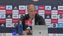 """International - Zidane : """"Je suis un grand fan de l'équipe d'Espagne"""""""