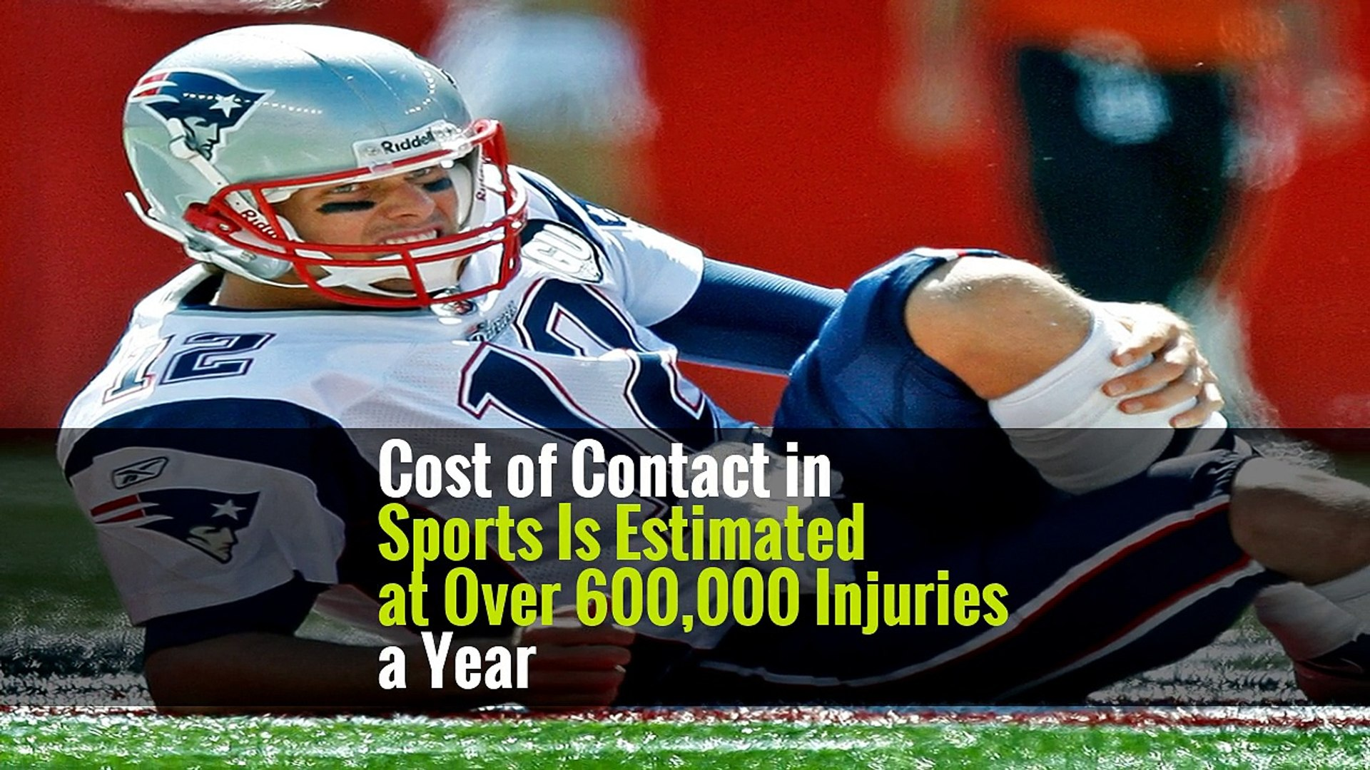Cost of Contact in Sports Is Estimated at Over 600,000 Injuries a Year