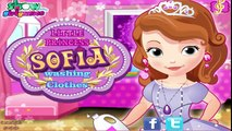 Sofia The First Washing Clothes - Sofia The First Games - Sofia Washing Dirty Clothes