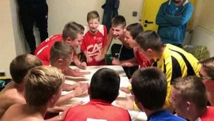 Cri de la victoire - Match contre Gainneville - U15