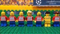 Champions League Final 2016 • Real Madrid vs Atletico Madrid • goal highlights Lego Football film