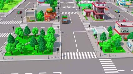 Real Diggers - Big Excavator & Bulldozer Construction Vehicles 3D Kids Cartoon Cars & Trucks Stories