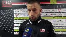 La réaction de Lucas Deaux après EAG-Toulouse (1-1)