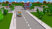 Learn Colors Trucks Drive Tru City Bad Cars Wheels Ride on Car w/ Happy Fun Trucks Pretend