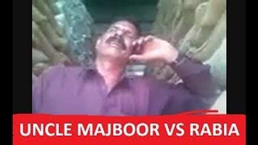 Uncle Majboor vs Rabia - Full Funny Video by legend of fun