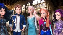 Ariel Becomes a Vampire Can Frozen Elsa, Anna and Descendants Mal and Evie Save Her?