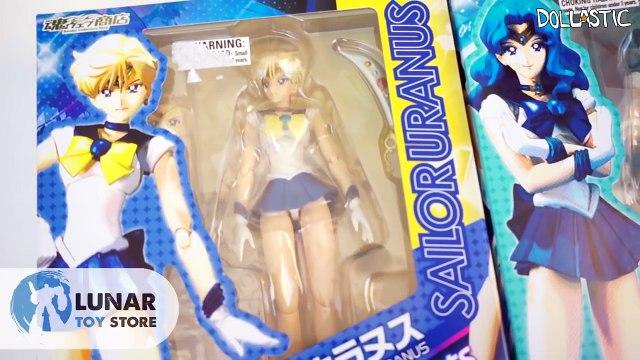Sailor Uranus & Sailor Neptune S.H.Figuarts Anime Sailor Moon Figure Unboxing and Review