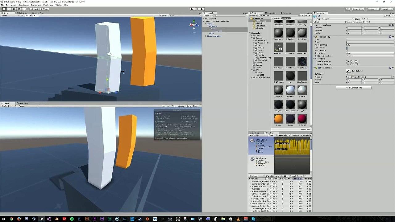Tutorial - Creating Active Ragdolls In Unity 5