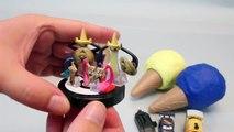 Play Doh Ice Cream Cone Surprise Eggs Disney Cars, pokemon, Thomas Toys 플레�