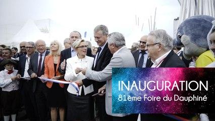 81e Foire du Dauphiné - Inauguration de la 81e Foire du Dauphiné
