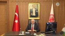 Başbakan Yıldırım'dan 15 Temmuz Sonrası Meclis Makamına İlk Ziyaret