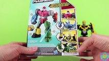 Transformers Robots in Disguise Hero Mashers Sideswipe & Bumblebee. Sideswipe goes on Spring Break!