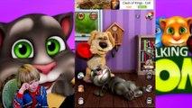 TalKing Tom Cat funny videos in english - Kids Babies Game - GERTIT vs Tom Cat Screaming