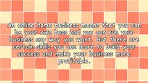 5 Skills You Need To Learn For Your Online Home Based Business
