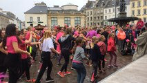 La Zumba a fait danser la place de Gaulle dimanche