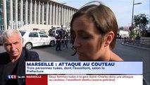 LCI : une femme raconte l'attaque au couteau dont elle a été témoin