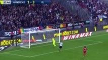 Karl Toko Ekambi Goal HD - Angers 2 - 3 Lyon - 01.10.2017 (Full Replay)