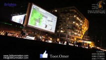 Projection Mapping | Building Projection | Digital Signage | Large Projection in Pakistan