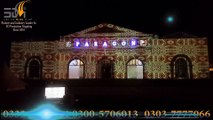 Building Projection Mapping in Pakistan  Laser lights Sound Show   Projection Mapping