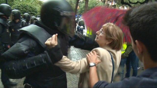 Catalonia referendum: 'Spanish authorities are the criminals'